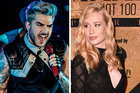 Adam Lambert as labelled Iggy Azalea a diva and says she's threatened because she can't sing. Photos / Getty Images
