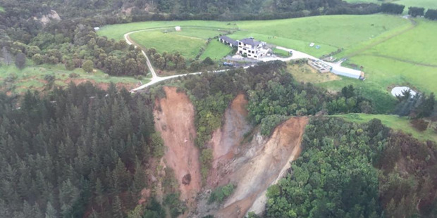 Damage along the Kaikoura coastline from the 7.5 M earthquake that struck north Canterbury. Photo / Supplied