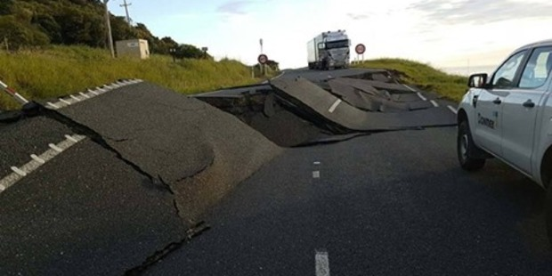 Loading The region affected by the recent earthquake has been one of the most seismically active in New Zealand over the past few years. Photo / Twitter