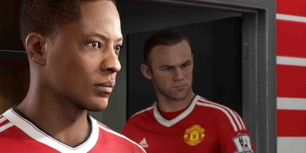 Alex Hunter mixes with some famous faces in his quest to become a pro footballer in Fifa 17.