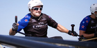 Emirates Team New Zealand skipper Glenn Ashby says one slip-up could cost a team the series win in Japan.