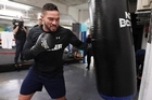 A showcase of Joseph Parker's fast hands in action