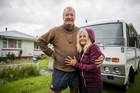 Waiau residents Paul and Frances have lived in the town for 8 years. Their lives have been turned upside-down by this week's quakes