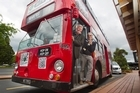 Big Red is a double decker bus which will be doing night service runs to tourism locations.