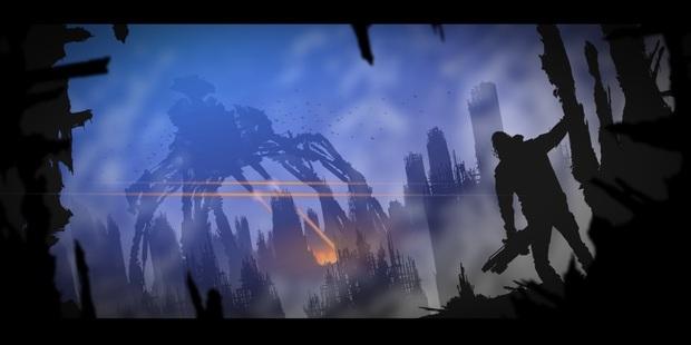A still from kiwi animator Bruce Stirling John Knox's Terminator pitch
