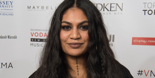 Loading Aaradhna refused to accept the Tui for Best Urban/Hip-Hop Artist at the New Zealand Music Awards.