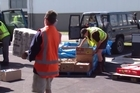 4WD emergency team laden with supplies has been denied the ability to deliver the badly needed food and relief