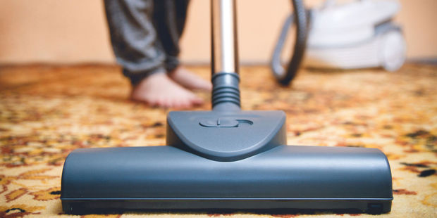 Piece of advice to men - do the vacuuming. Photo / 123RF