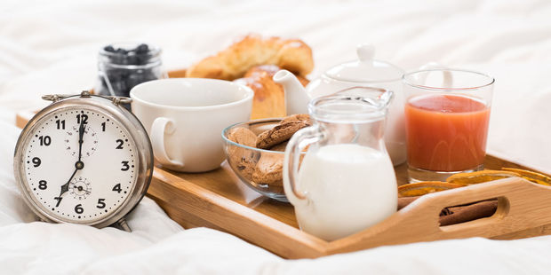 Often, breakfast biscuits have added sweeteners which puts your calorie count high. Photo / 123RF