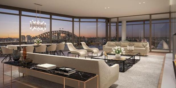 This is now Australia's most expensive apartment after it sold for $26 million. Photo / Supplied