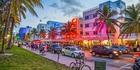 South Beach thoroughfare, Miami. Photo / Getty Images