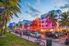 South Beach thoroughfare, Miami. Photo / Getty Images