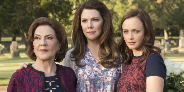 Loading The three Gilmore are back on screen, with the Netflix series, Gilmore Girls: A Year in the Life. Photo / Netflix