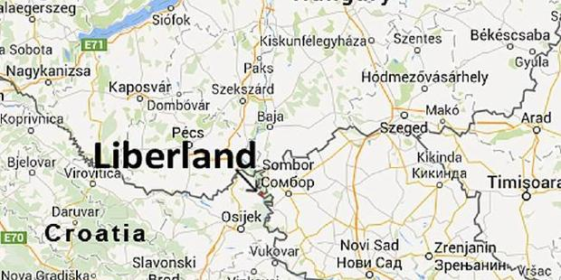 Liberland is a small little marsh with few laws. But you'll probably get arrested if you go there.