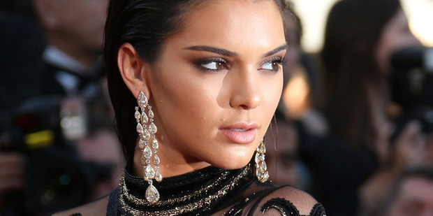 Where's she gone? Kendall Jenner has disappeared from Instagram. Photo/AP