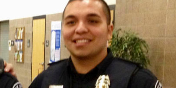 St. Anthony police officer Jeronimo Yanez, pictured in 2013, has been charged with second-degree manslaughter. Photo / AP