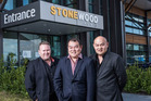 Chow Brothers and Clint Webber bought Christchurch's Stonewood Homes operation. Photo / File