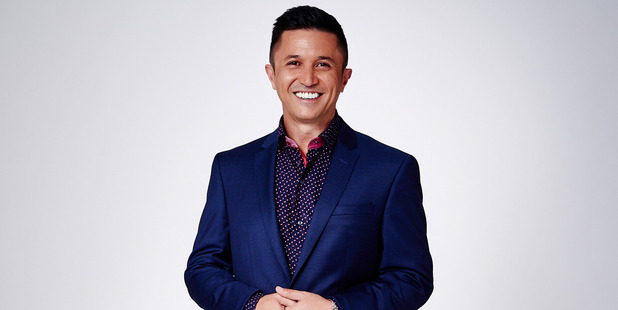 Mike Puru during his time hosting The Bachelor.