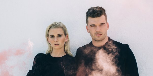 Loading BROODS - BROTHER AND SISTER DUO FROM NELSON, GEORGIA NOTT AND CALEB NOTT NZH 18Jun16 - Geogia and Caleb Nott are the brother and sister behind Broods.