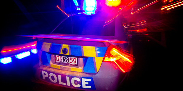 A Kaitaia man was arrested after allegedly throwing beer bottles at a police car during a 55km pursuit.