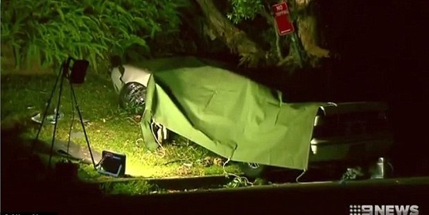 Adam Sheffield died when he lost control of his car in Sydney's northern suburbs. Photo / Nine News
