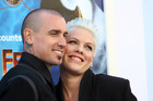 Pink and her husband of ten years, Carey Hart, are expecting their second child. Photo / Getty