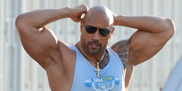 Dwayne Johnson is happy with his new title. Photo / Getty