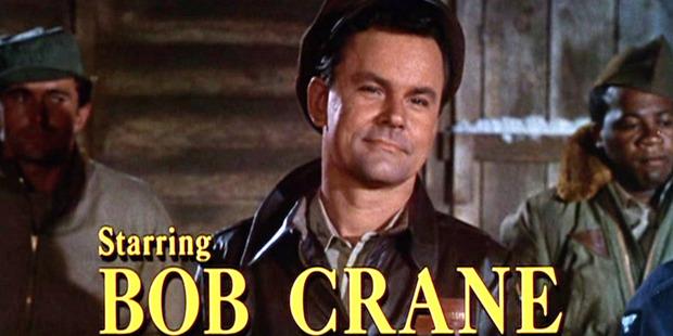Bob Crane as Col. Robert E. Hogan. Photo / Getty