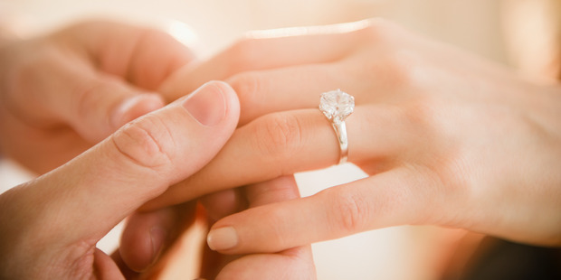 The fate of an engagement ring depends on whether the court classifies it as a gift or an investment piece. Photo / Getty