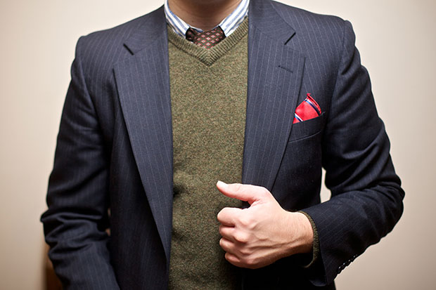 Men should invest in a casual blazer and a pocket square. Photo / Getty Images