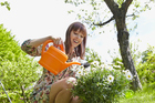 Research suggests just half an hour in the garden has long-term benefits for body and mind. Photo / Getty Images