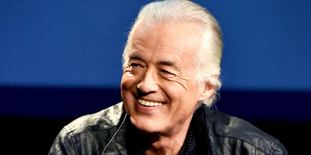 Musician Jimmy Page. Photo / Getty