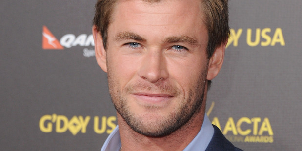 Actor Chris Hemsworth was once dubbed Sexiest Man Alive. Photo / Getty