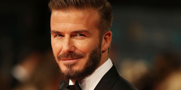 David Beckham no longer holds the Sexiest Man Alive title. Photo / Getty
