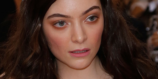 Lorde has hit out at Donald Trump in a series of tweets, calling the new US President 'artless, graceless'. Photo/Getty