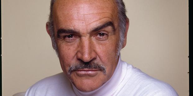 Scottish actor Sean Connery, circa 1990. Photo / Getty
