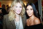 Courtney Love and Kim Kardashian. Photo / Getty Images
