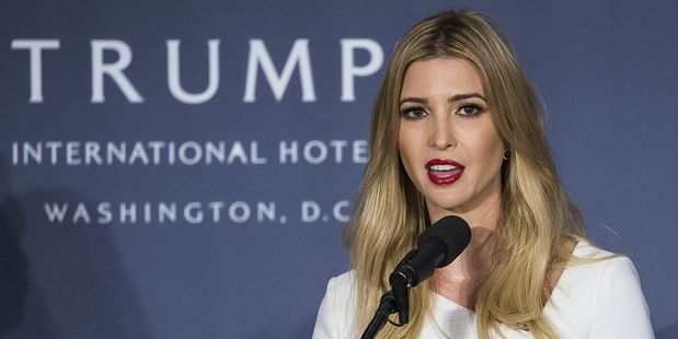President-elect Donald Trump's daughter, Ivanka. Photo / Getty Images