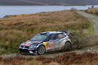 Sebastian Ogier during the FIA World Rally Championship Great Britain. Photo / Getty Images