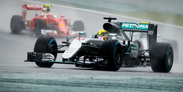 Lewis Hamilton during the Formula One Grand Prix of Brazil. Photo / Getty Images