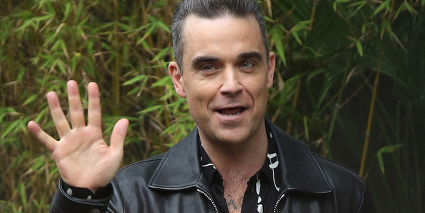 Robbie Williams seen leaving the ITV Studios after appearing on Loose Women on November 14, 2016. Photo / Getty