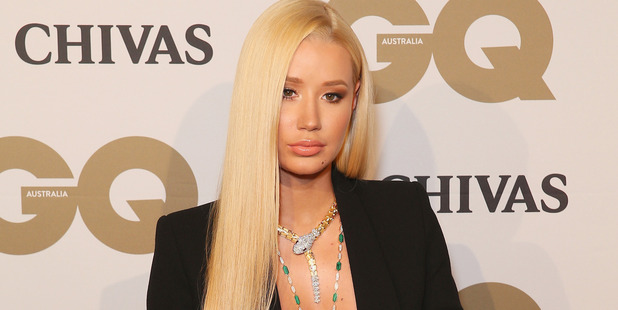 Iggy Azalea arrives at the Australian GQ Men of the Year Awards 2016. (Photo by Don Arnold/WireImage)
