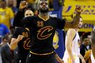 Cleveland Cavaliers' LeBron James. Photo / AP.