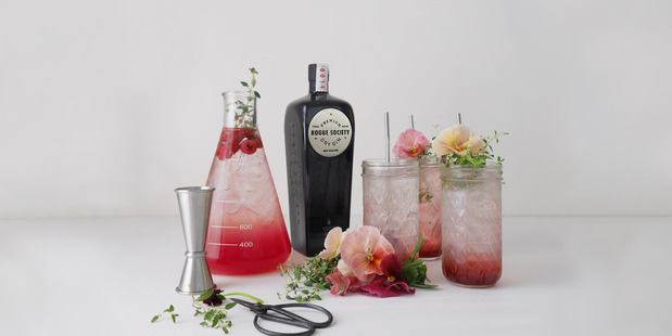 Rogue Society creates premium grade gin.