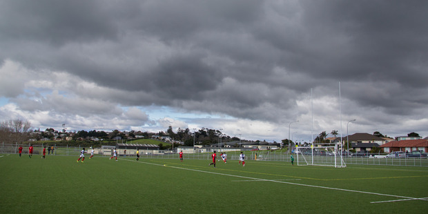 Loading Mt Roskill Grammar's football academy was the eny of many, but questions remain over its use of Year 14 students. Photo / Nick Reed