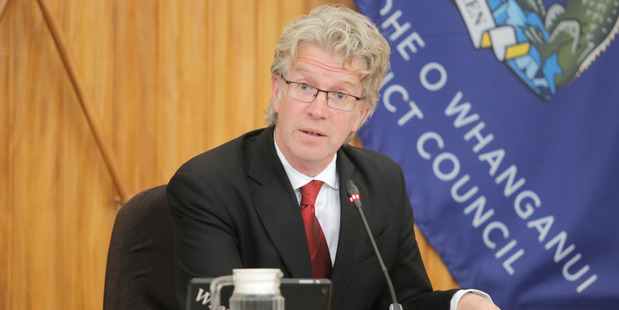 Whanganui can offer cheap office accommodation to Wellington, Mayor Hamish McDouall says. PHOTO/ FILE