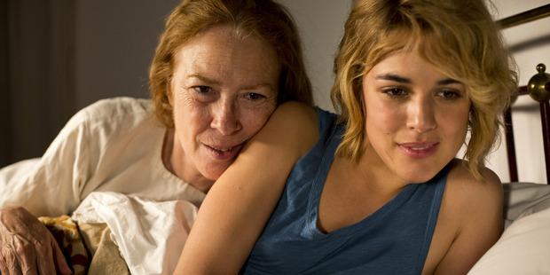 A scene from the movie, Julieta.
