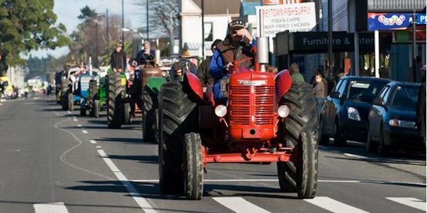 Arbor US parade in Greytown. Photo / US Embassy