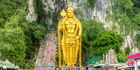 A statue at Batu Caves in Kuala Lumpur, Malaysia. Photo / Getty Images