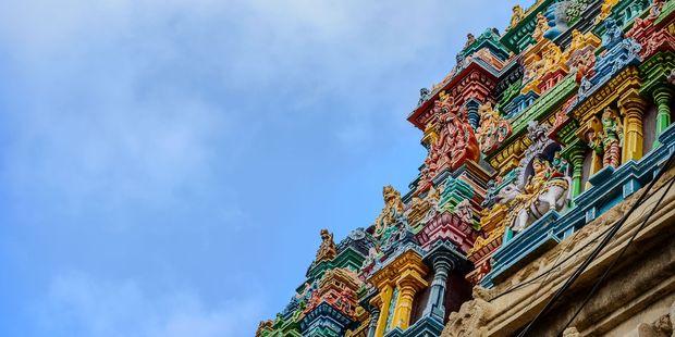 The Kapaleeswarar temple, in Chennai. Photo / 123RF